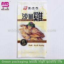Sacos de embalagem a vácuo de alimentos feitos por máquina bem equipada
