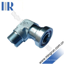 90 Elbow S Series Flange Tube Fitting Flange Adapter (1DFS9)