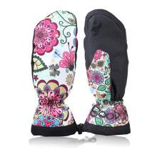 Moda ao ar livre quente Thinsulate Mulheres Ski Mittens
