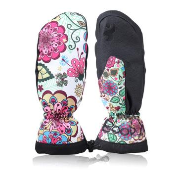 Fashion Outdoor Warm Thinsulate Women Ski Mittens