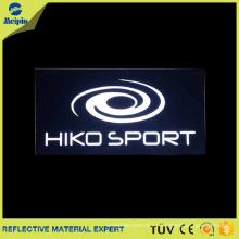 Reflective Heat Press Parche / Etiqueta / Logotipo para prendas / zapatos