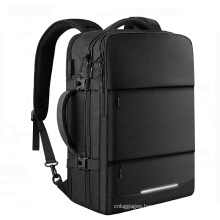 Large Capacity 15.6 Inch Travel Business Mens Laptop Backpack With USB