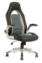 New Car Back Office Chair PU Leather