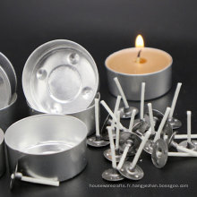 Coquille en aluminium 10g 12g 14g Tea Candle