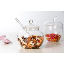 Safety High Borosilcate Glass Storage Jar Tea Pot