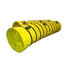 Ventilação de exaustão do duto do cabo flexível mangueira de duto flexível do ventilador da canalização