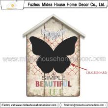 Pizarra baja de la exhibición de la alta calidad de MOQ, tablero de mensaje de madera