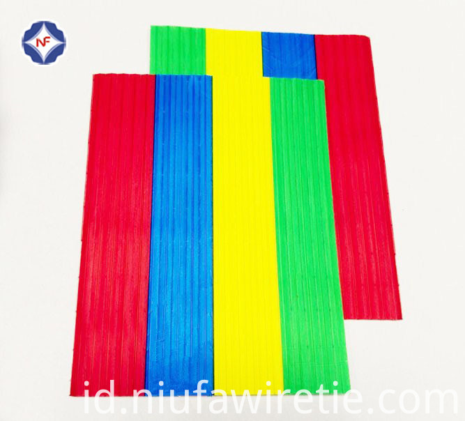 colorful gang twist tie