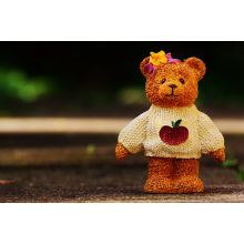 OEM Super Soft Knitted Teddy Bear