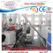 WPC twin винт экструдер машины линии гранулирования