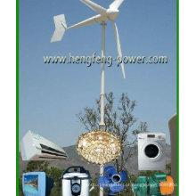 CE acionamento direto baixa velocidade baixa partida binário ímã permanente gerador 3KW eólica de eixo Horizontal poder sistema vento aerogerador