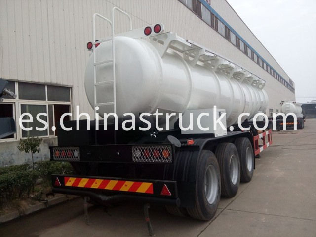 98 Concentrated Sulfuric Acid Tanker Trailer