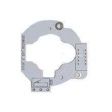 Placa de circuito de alumínio de 2 camadas PCB ENIG ENEPIG