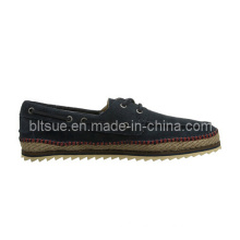 Nature Style Leather Casual Boat Shoes