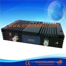 27 дБм 80 дБ репитер для трех диапазонов CDMA / Dcs / WCDMA с цифровым дисплеем