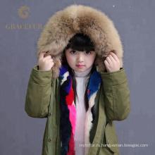 Привлекательный мех енота куртка купить