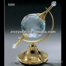 schöne k9 Kristallkugel K060