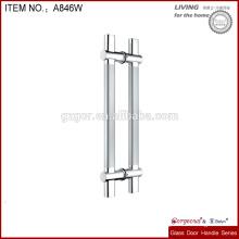 Manija de la puerta del tirón de la forma del alto grado H para la puerta de cristal