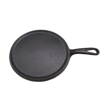 factory sell cast iron fry pan or skillet 25cm