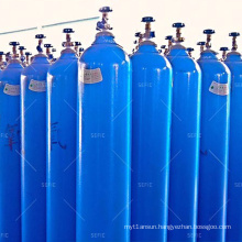 Hospital Emergency Aid High Pressure 150bar/200bar 15L Seamless Steel Welding Oxygen Cylinder
