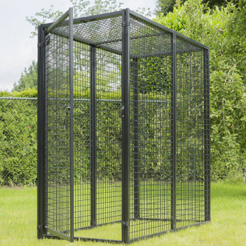 Serbuk Bersalut Pet Dog Pet Cage Outdoor