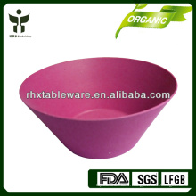 2014 Chine Meilleur fabricant Nouveau produit Eco-friendly Bamboo Fiber bowl for Kid