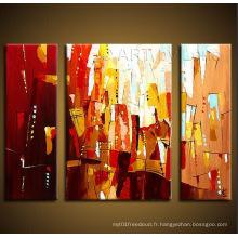 Peinture à l'huile abstraite moderne moderne