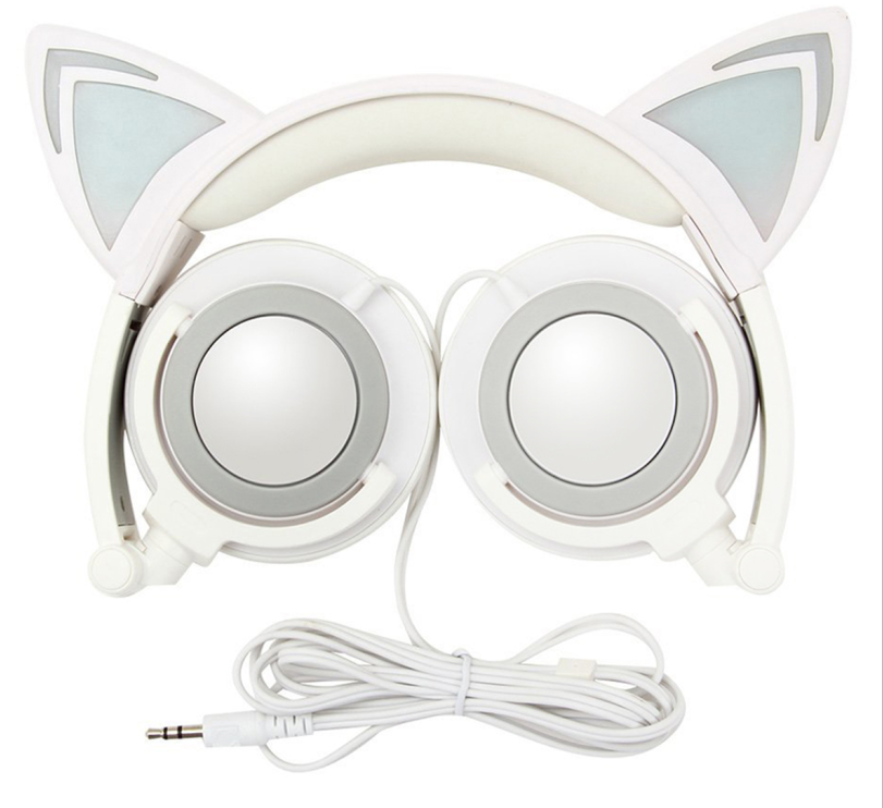 cat headphones headsets