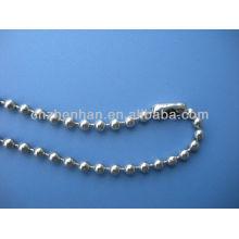 Cadena de la bola del metal de 4.5 * 6m m cadena del grano de la bola de la cortina-acero inoxidable con la cadena de la bola de la persiana del conector-rodillo