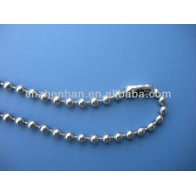4.5*6mm metal ball chain curtain-stainless steel ball bead chain with connector-roller blind ball chain