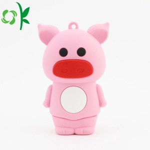 Sevimli Pembe Domuz Powerbank Vaka Iphone Vaka Powerbank