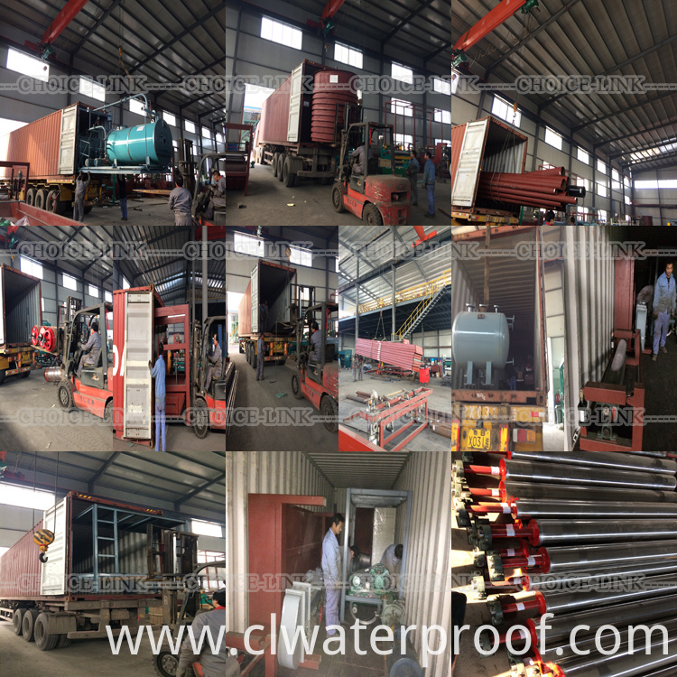 SBS/app bitumen roofing membrane machinery