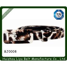 women decorative belts/Snake jacquard belt