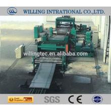 Bobina de acero utilizado máquina de corte