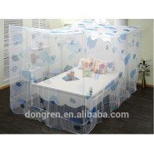 100% polyester résistant à l'insecticide rectangulaire moustiquaire carré avec impression