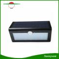 New 38 LED Solar Wall Light Motion Sensor Garden Light Outdoor Wall Lamp 3 Working Modes for Garden Lighting