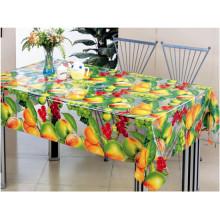 Projeto impresso transparente da toalha de mesa barata do PVC do plástico