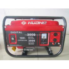 Generador casero 2kw, generador de la gasolina con CE