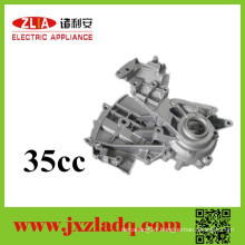 Electroplate!aluminum die casting!Spare Parts of Chainsaw Crankcase