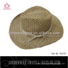 Großhandel Cowboy Hüte natürliche Farbe
