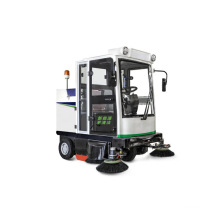 Rechargeable Road Sweeper Street Cleaning Vehicle