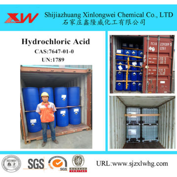 HCL 32% d'acide chlorhydrique acide