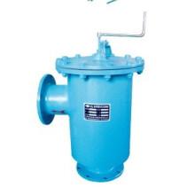Tratamiento vertical de los filtros de cepillo con accionamiento manual