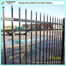 Paneles comerciales de cercas de hierro forjado