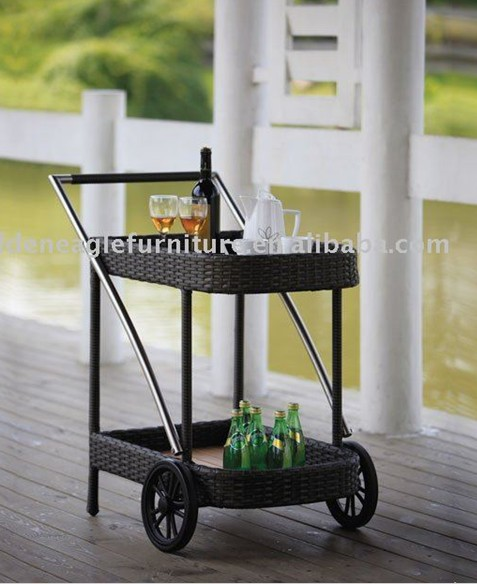 Outdoor Rattan Trolley