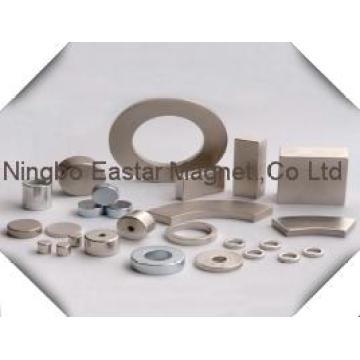 Zinc Plating N45 Ring Neodymium Magnet