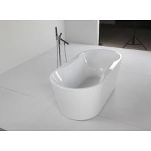 Акриловая ванна в автономном стиле с функцией массажа