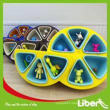 Nouveau jouet en bois pour meubles pour enfants, ensemble d'armoires pour enfants en bois populaire LE.SK.023