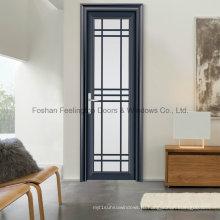 Полые дизайн Алюминиевый створки терморазрывом двери (фут-кадрах, снятых D80)