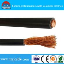 Cable de soldadura de conductor de cobre Cable de soldadura de aislamiento de PVC